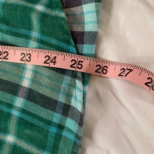 Mossimo Supply Co. Tops - Mossimo long sleeve aqua/teal plaid shirt